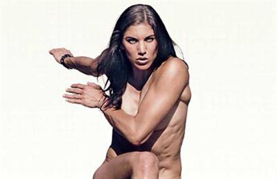 Hope Solo is one of the hottest women in sports.