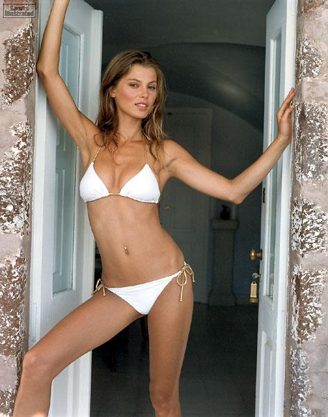 Aurelie Claudel in a bikini