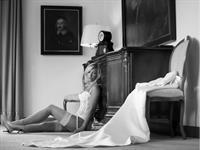 Katja Zwara in lingerie