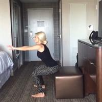 Alexa Jean Brown in Yoga Pants