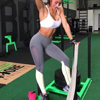 Ana Cheri in Yoga Pants