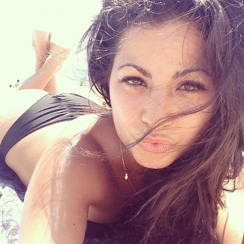 Mónica Alvarez in a bikini