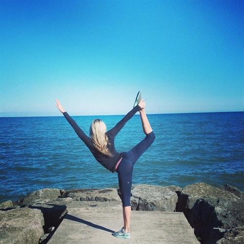 Mackenzie White in Yoga Pants