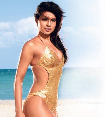 Priyanka Chopra in a bikini