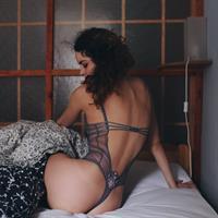 Haylie Noire in lingerie - ass