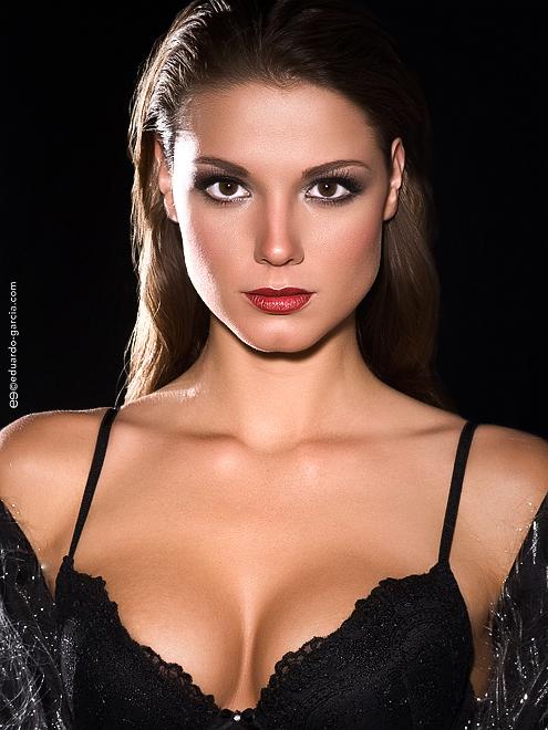 Jess Lange in lingerie