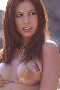 Valerie Baber in a bikini