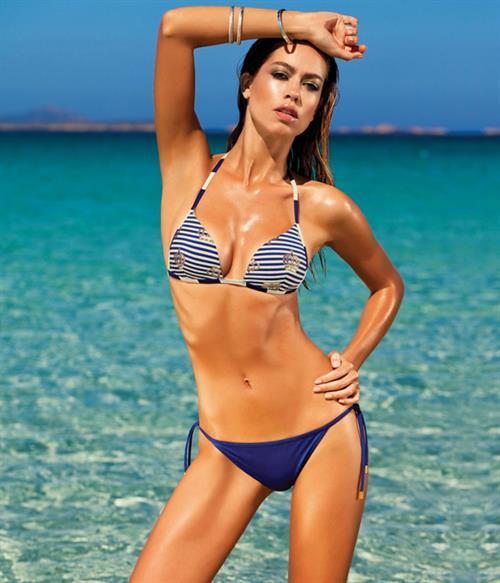 Nataliya Tkalina in a bikini