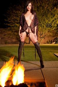 Bethanie Badertscher in lingerie