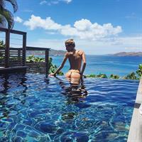 Kimberley Mens in a bikini - ass