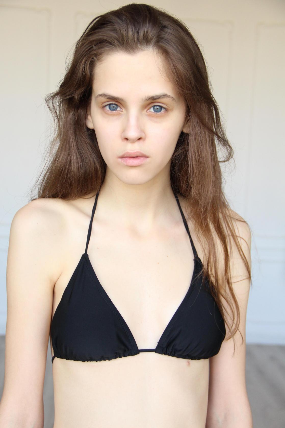 Dasha Ponomareva in a bikini