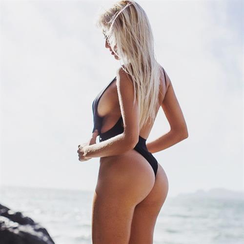 Bri Teresi in a bikini - ass
