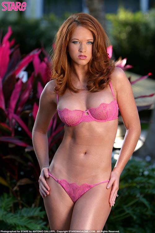 Samantha Harris (Model) in lingerie