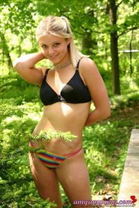 Amy Amy in a bikini
