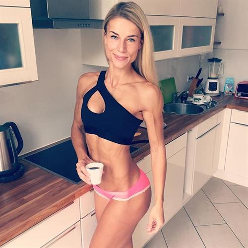Adrienne Koleszár in a bikini
