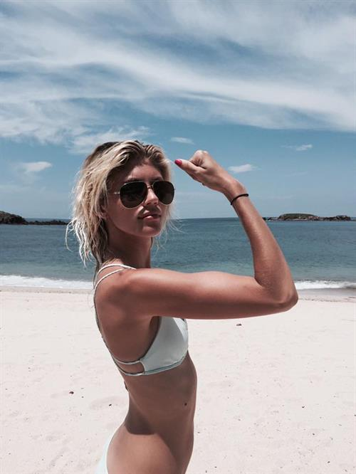 Devon Windsor in a bikini
