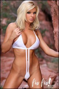 Heather Shanholtz in a bikini