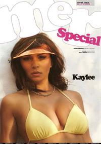 Kaylee Carver in a bikini