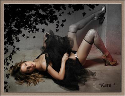 Kate Beckinsale in lingerie