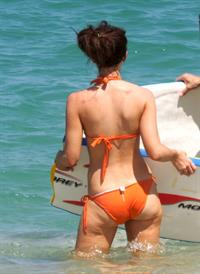 Kate Beckinsale in a bikini - ass