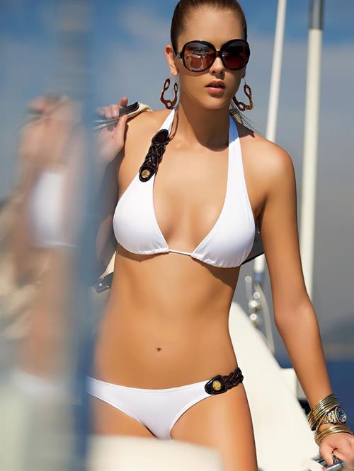 Gianne Albertoni in a bikini