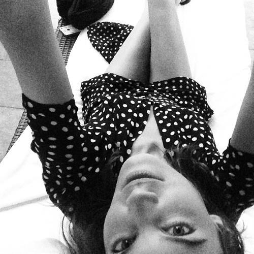 Alexa Chung taking a selfie