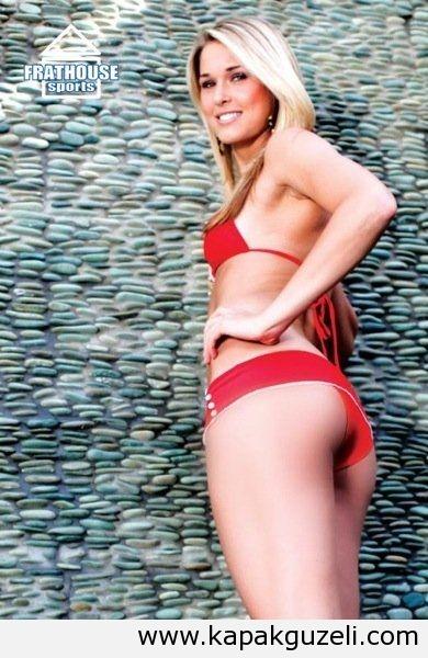 Morogan Beck in lingerie - ass