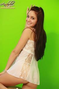 Annabelle Angel in lingerie - ass