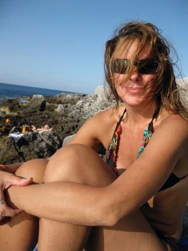 Denise in a bikini
