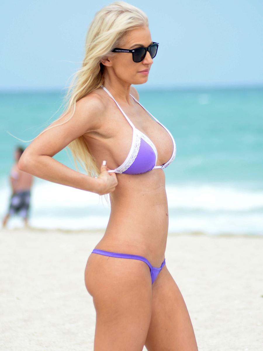Ana Braga in a bikini
