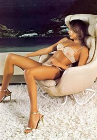 Lorraine Van Wyk in lingerie
