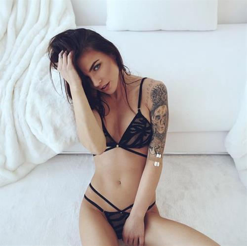 Kylie Rae in lingerie