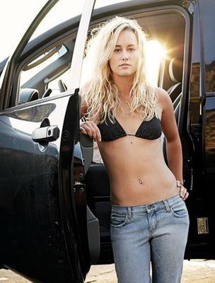 Chanelle Sladics in a bikini