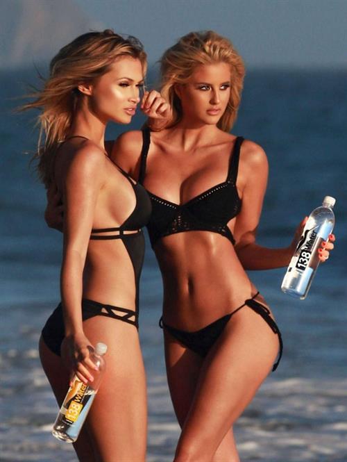 Emma Hernan in a bikini