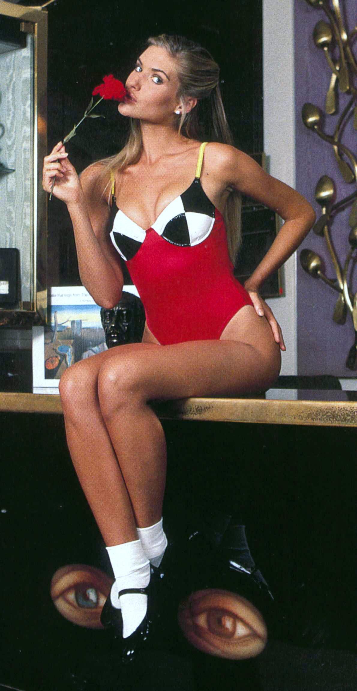 Judit Mascó in a bikini