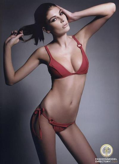 Angela Martini in a bikini