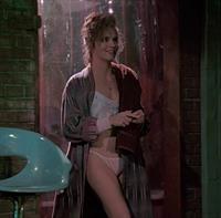 Lea Thompson in lingerie