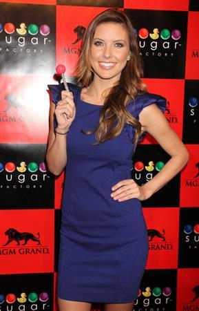 Audrina Patridge Sugar Factory Grand Opening in Las Vegas March 2, 2012