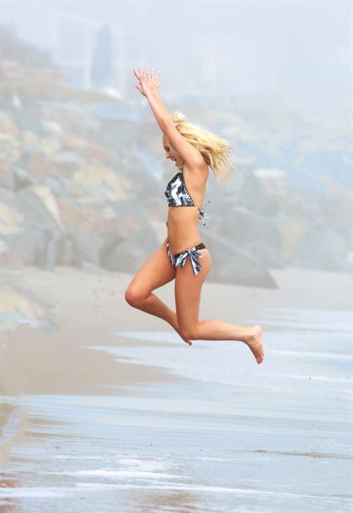 Ava Sambora in a bikini