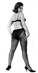 June Palmer in lingerie - ass