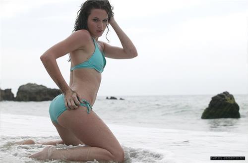 Shantel VanSanten in a bikini - ass