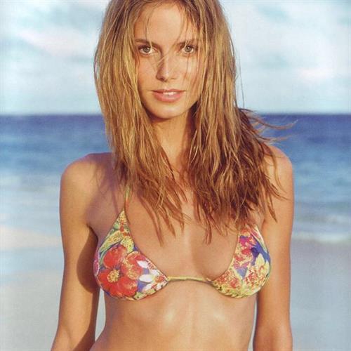 Heidi Klum in a bikini