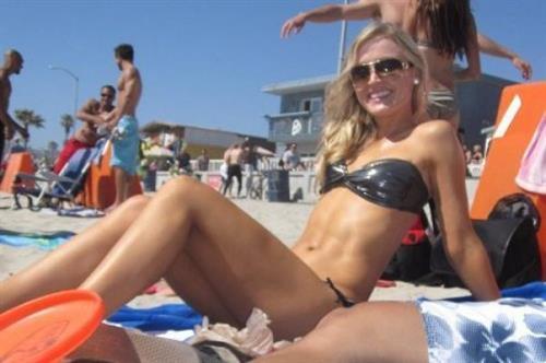 Blair O'Neal in a bikini