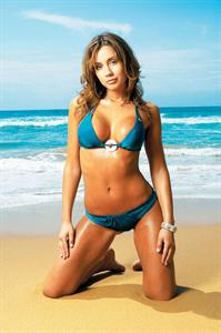 Krystal Forscutt in a bikini