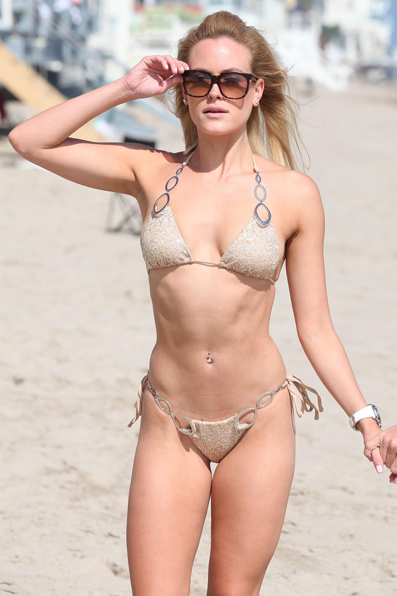 Peta Murgatroyd in a bikini