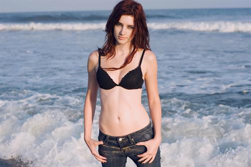 Susan Coffey in a bikini