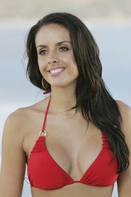 Jessie Sulidis in a bikini