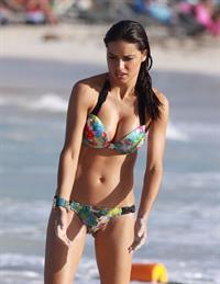 Adriana Lima in a bikini