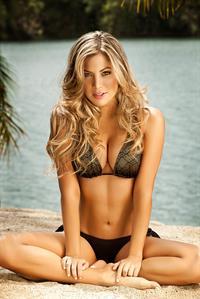 Daniela Tamayo in a bikini