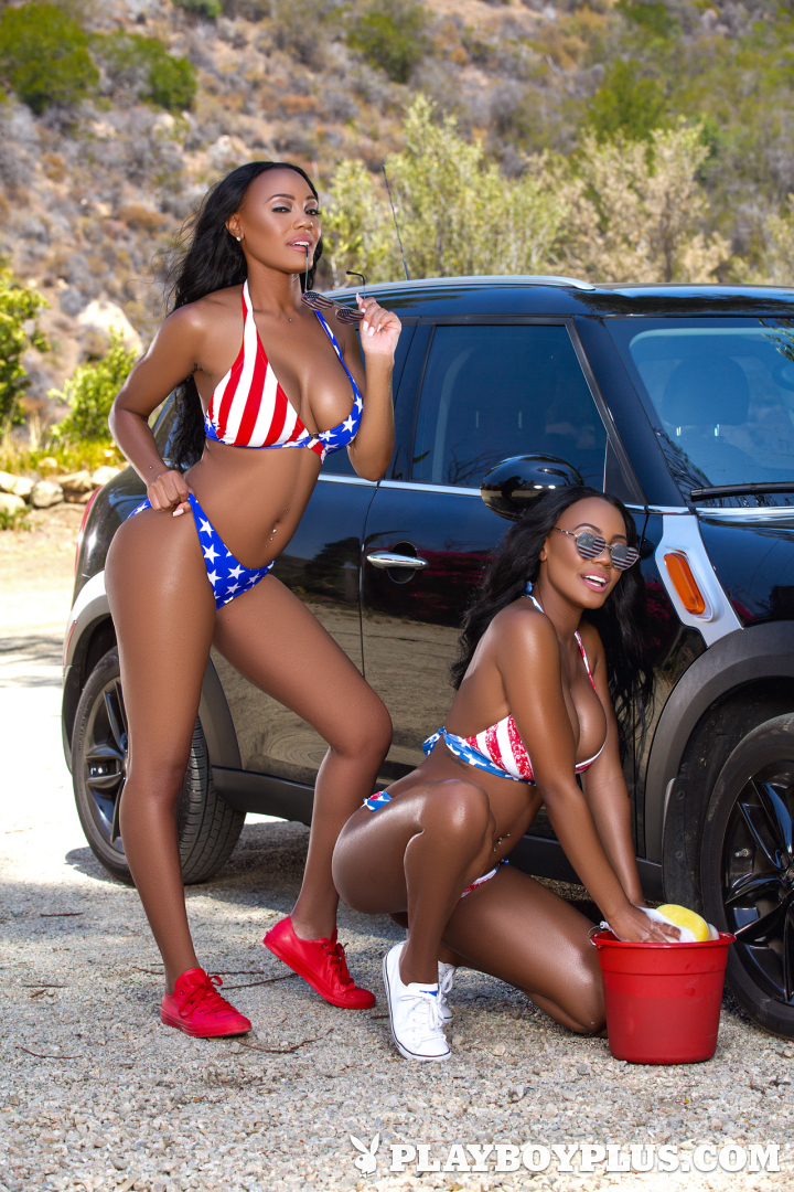 Playboy Cybergirl - Brittany and Brandi Kelly Nude Photos & Videos at Playboy Plus!
